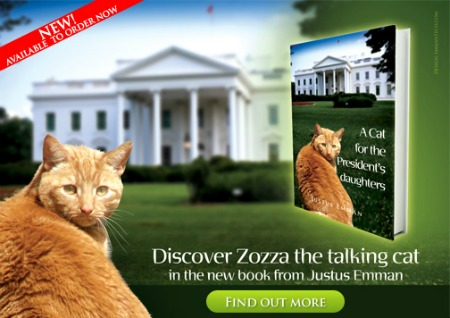 Discover Zozza - The Talking Ginger Cat